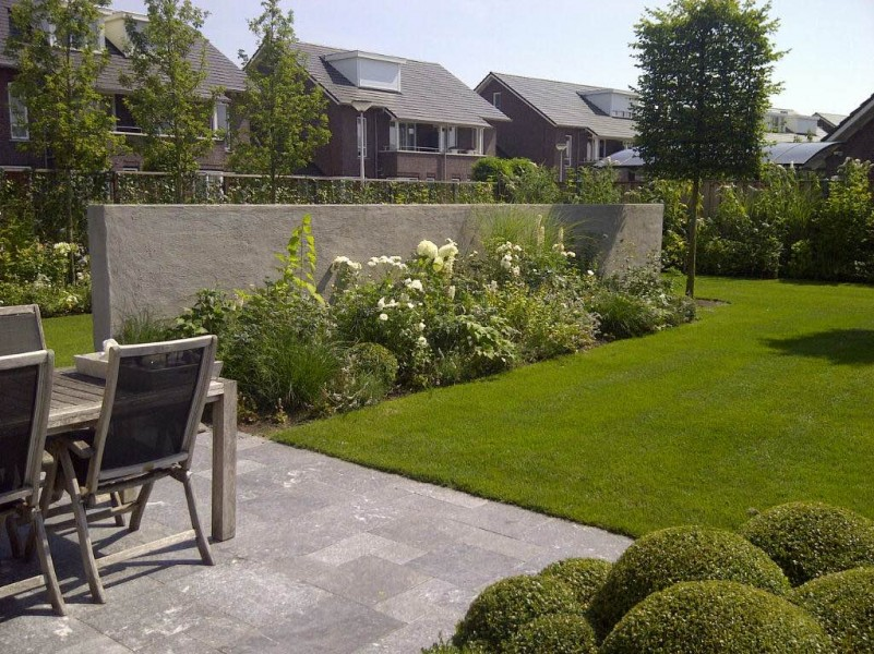 Fotogalerij - Hoe aangelegde tuin ...